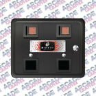 Multicade Arcade Cabinet Bally Midway Coin Door Replica Decal Sticker