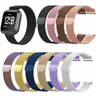 Milanese Magnetic Loop Stainless Steel Wrist Watch Band Strap For Fitbit Versa