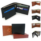 Casaba Genuine Leather Bifold Wallets Cash Slots ID Coin Key Pocket Mens Womens image