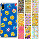 Funny Emoji Cartoon Pattern Phone Case Cover For iPhone Samsung LG and Motorola