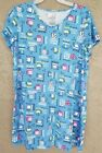 NEW 2X-3X Secret Treasures NightShirt Sleepshirt Dormshirt Sleep Tee Womens Plus