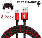2 Pack Charger Cable USB Cord for PlayStation 4 slim PS4 Dualshock Controller