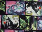 Disney Fabric Villains Patch Beautiful Colors Quilting Cotton FQ BTHY BTY