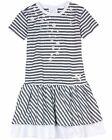 Le Chic Girl's Striped Dress, Sizes 4-14