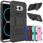 Hybrid Outer Box Case Cover Belt Clip Holster Stand for Samsung Galaxy S9/S8/S8+