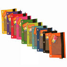 Multipurpose Zipper Pouch For 3-Ring Binders 1 to 6 Assorted Colors LOT NEW