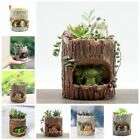 Resin Planter Pot Succulent Plant Flower Bonsai Box Bed Garden Home Decor US