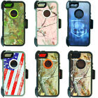 For iPhone 5 5S SE Camo Rugged Case Cover