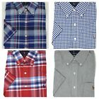 Ralph Lauren Men's Oxford Button-down Shirt Short Sleeve Slim Fit Pony Logo
