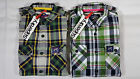 NWT SUPERDRY 100% Cotton Classic Plaid Casual Shirt Mens Sizes Small, Medium