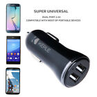 Double Port USB in Car Charger for Phone 12V 2.4A Auto Cigarette lighter Adaptor