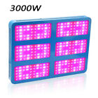 3000W LED Grow Light Panel Full Spectrum with UV&IR for Indoor Plants Hydroponic