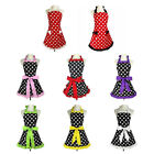 ladies aprons - Kitchen Apron For Women Retro Polka Dots Cooking Aprons Cafe Working Aprons