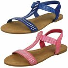 Spot Girls On Slip On Casual Sandals