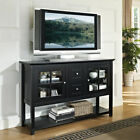 """Walker Edison Wood 52"""" Table TV Stand Console"""