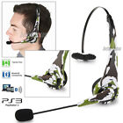 ps3 headset mic - Bluetooth Wireless Gaming Headset Laptop PS3 PC Stereo Noise Isolation with Mic