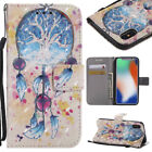 Magnetic Leather Card Slot Stand Phone Case Cover For iPhone X 8 7 6 5s 6s Plus