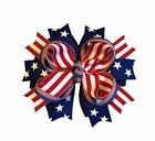 Patriotic Boutique Hair Bow