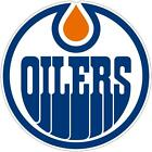 Edmonton Oilers NHL Color Die Cut Decal Car Sticker Choose Size Free Shipping