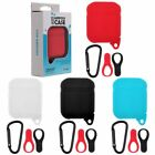 For Apple AirPods Silicone Case Shockproof Protective Cover Keychain Dust Plug