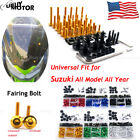 Complete Fairing Bolt Screws Kit for Suzuki GSX-R 600 / 750 K1 2001 2002 2003