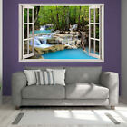 Gorgeous Waterfall Scene Printed Art Wall Sticker Giant Transfer Pictures pr19
