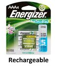 AA AAA Battery Energizer Duracell Lithium OR Rechargeable 4 8 10 16 24 Pack Lot