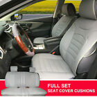 PU Leather Suede Full Car Seat Cushion Covers Compatible to Dodge 803551 Bk $74.95 USD on eBay
