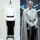 Rogue One:A Star Wars Story Admiral Cosplay Costume Outfit White Suit Uniform
