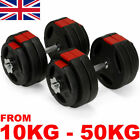 Dumbbell Set Vinyl Dumbbells Sets Weights Fitness Bicep Tricep Gym Weight Bar