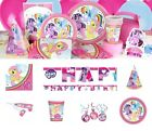 My Little Pony Party Supplies Unicorn Birthday Tableware Decorations Plates Cups