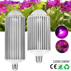 120W/180W E27 COB LED Corn Grow Lights For Indoor  Hydroponic Cultivation Flower