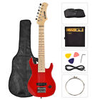 Electric Guitar+15w AMP+Strap+Cord+Gigbag Beginner Pack Accessories  Green & Red