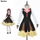 Bungo Stray Dogs Costume Lucy Halloween Party Women Dress Fashion Comic Con Suit