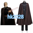 NEW Star Wars Attack of The Clones Jedi/Sith Count Dooku Cosplay Costume  H.048