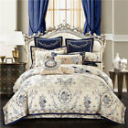 10 pcs. Luxury Palace Jacquard bedding set Quilt cover bed sheet pillowcases