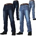 Mens Crosshatch Jeans New Farrow Free Belt Best Selling Jeans By Crosshatch