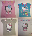 Girls M & S t shirt top Hello Kitty age 1.5 2 3 4 5 6 7 8 Tatty Teddy NEW