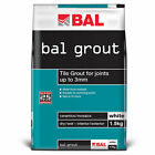 Bal White Tiling Grout For Walls 1.5kg