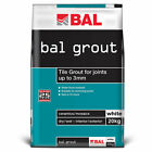 Bal White Tiling Grout For Walls 20kg