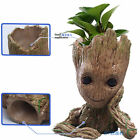 2018 16cm Guardians of the Galaxy BABY GROOT FIGUR Blumentopf Stil Stift Pot