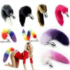Adult Games Funny Fox Tail Butt Backyard Stopper Woman Stainless Steel Cute Toys