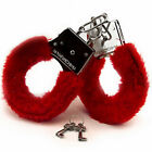 USA Handcuffs Up Furry Fuzzy Sex Slave Hand Ring Ankle Cuffs Restraint Bed Toys