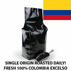 2, 5, 10 LB COLOMBIA EXCELSO FRESH ROASTED COFFEE WHOLE BEAN, GROUND - ARABICA