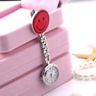 Smile Face Hanging Pocket Watch FOB Brooch Dial Watch For Nurse Doctor Medical