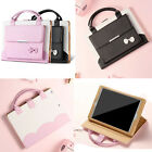 Cute Bowknot Leather Stand Case Handbag Cover For iPad 9.7''