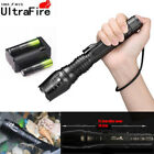 50000L T6 Zoomable Tactical LED Flashlights Lamp Torch+18650battery+Charegr US/