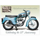 90213 Triumph Twenty One 3TA Motorcycle Wall Art Sign Decor WALL PRINT POSTER UK £13.95 GBP on eBay