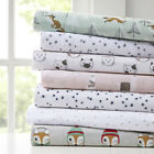 Intelligent Design Cozy Soft Cotton Novelty Print Flannel Sheet Set image