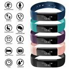 Sport Gym Fitness Tracker Smart Wristband Pedometer Calorie Bracelet Watch ID115